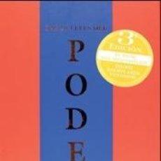 Livres: LAS 48 LEYES DEL PODER. Lote 206357190