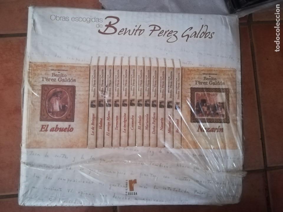 Libros: OBRAS ESCOGIDAS BENITO PÉREZ GALDÓS. EDICIONES RUEDA. COMPLETA Y NUEVA, SIN DESPRECINTAR. - Foto 2 - 206761550