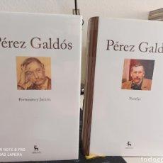 Libros: GRANDES AUTORES DE LA LITERATURA. BENITO PÉREZ GALDÓS. GREDOS. 2 VOLÚMENES. Lote 206894392