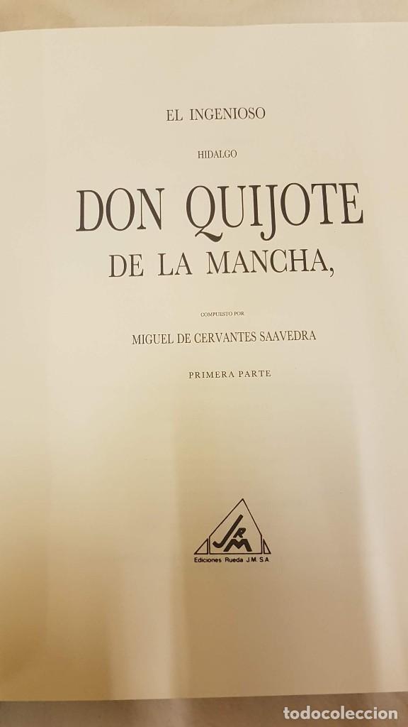 Libros: DON QUIJOTE DE LA MANCHA ,MIGUEL DE CERVANTES - Foto 3 - 206920992