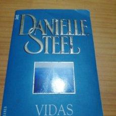 Libros: NOVELA VIDAS CRUZADAS DE DANIELLE STEEL. Lote 207442823