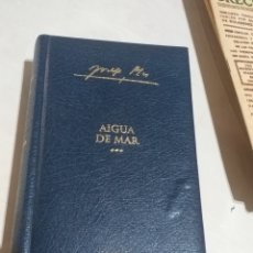 Libros: JOSEP PLA AIGUA DE MAR VOLUMEN 2 OBRA COMPLETA 2004 DESTINO EDICION LUJO CATALA PRECINTADO. Lote 207637891