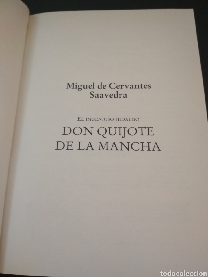 Libros: Don Quijote de la Mancha - Foto 2 - 209414727