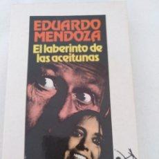Libros: EL LABERINTO DE LAS ACEITUNAS, EDUARDO MENDOZA. Lote 210667804
