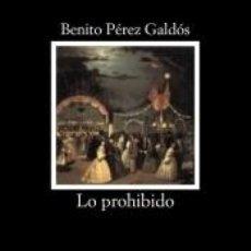 Libros: LO PROHIBIDO. Lote 210839977