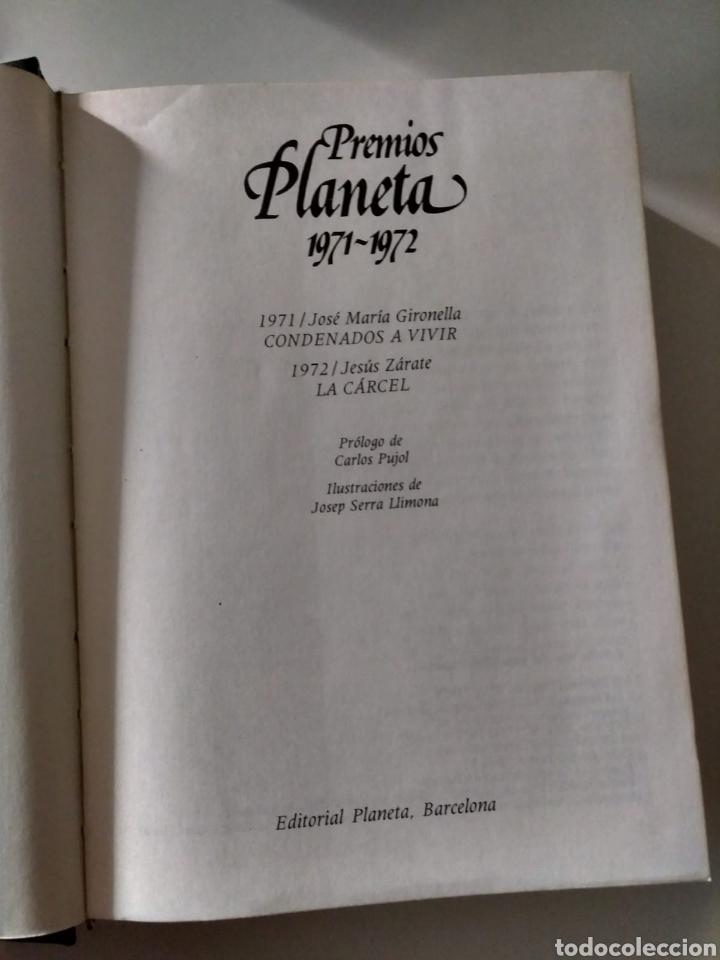 Libros: Premios Planeta 1971-1972 J. M. Gironella, J. Zárate - Foto 4 - 211411006