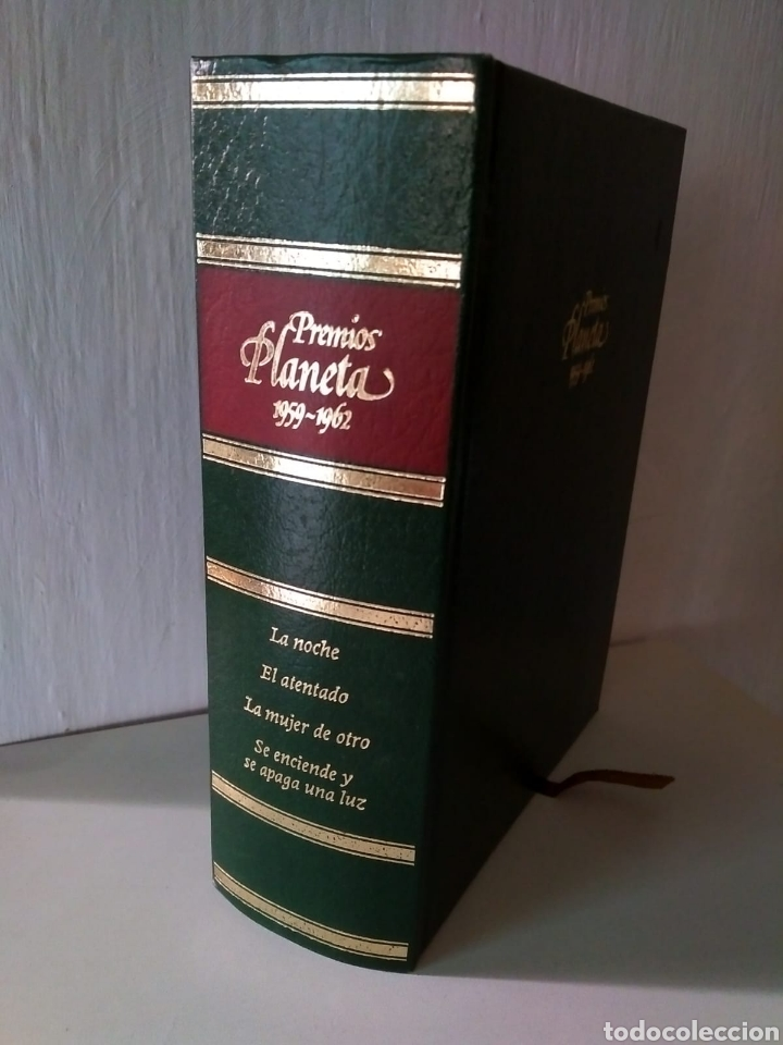 PREMIOS PLANETA 1959-1962 A. BOSCH, T. SALVADOR, T. LUCA DE TENA, A. VÁZQUEZ (Libros Nuevos - Narrativa - Literatura Española)