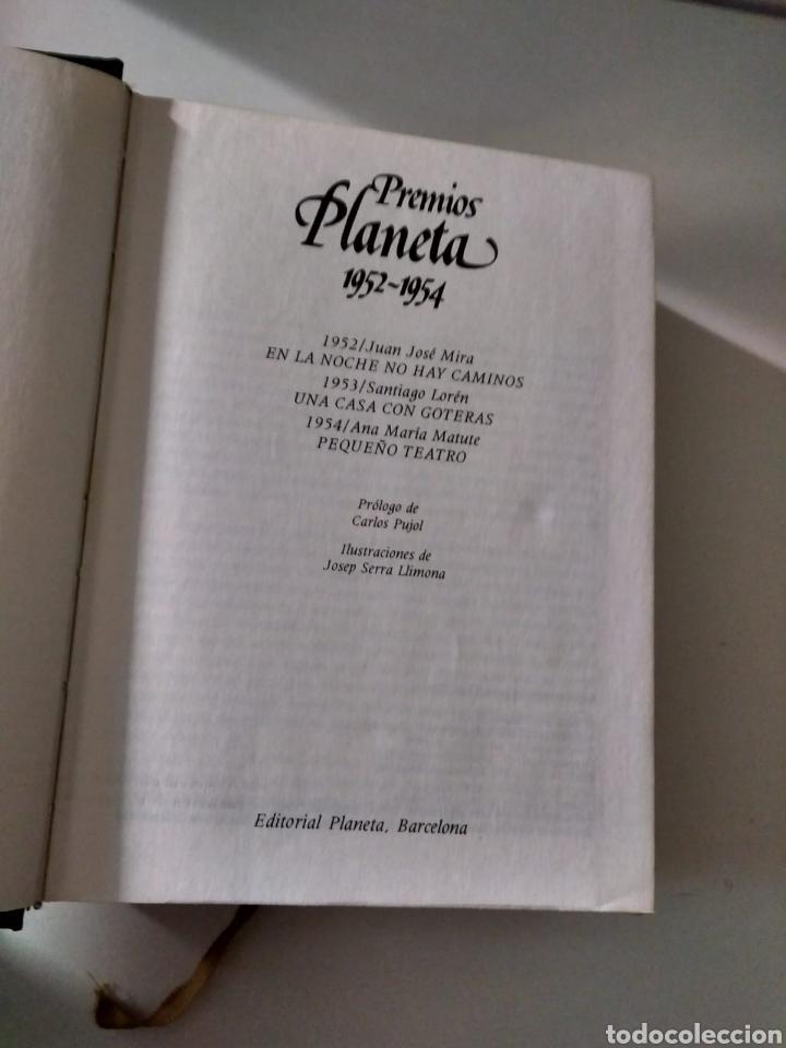 Libros: Premios Planeta 1952-1954 J. J. Mira, S. Lorén, A. M. Matute - Foto 4 - 211419090