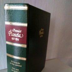 Libros: PREMIOS PLANETA 1952-1954 NOCHE NO HAY CAMINOS, CASA CON GOTERAS, PEQUEÑO TEATRO. Lote 211419090