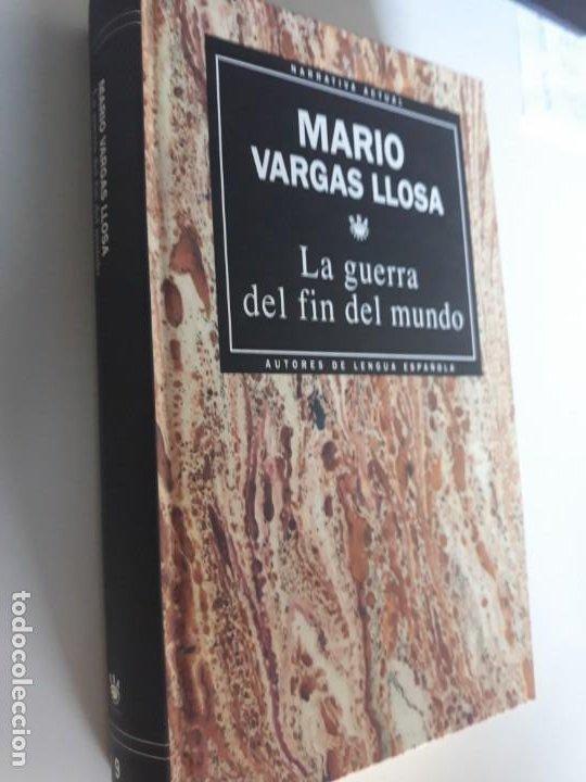 LA GUERRA DEL FIN DEL MUNDO MARIO VARGAS LLOSA RBA NARRATIVA ACTUAL 1993 Nº 9 (Libros Nuevos - Narrativa - Literatura Española)