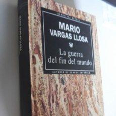 Libros: LA GUERRA DEL FIN DEL MUNDO MARIO VARGAS LLOSA RBA NARRATIVA ACTUAL 1993 Nº 9. Lote 212891345