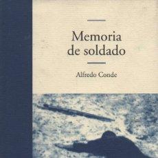 Libros: MEMORIA DE SOLDADO. ALFREDO CONDE. EDHASA. 2002.. Lote 214448190