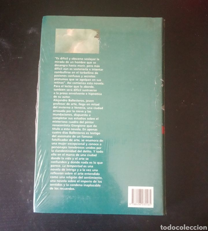 Libros: LA TEMPESTAD, JUAN MANUEL DE PRADA. COLECCIÓN PREMIO PLANETA 2000 - Foto 2 - 215203398