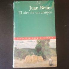 Libros: EL AIRE DE UN CRIMEN, JUAN BENET. COLECCIÓN PREMIO PLANETA 2000.. Lote 215203665