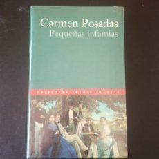 Libros: PEQUEÑAS INFAMIAS, CARMEN POSADAS. COLECCIÓN PREMIO PLANETA 2000.. Lote 215203901