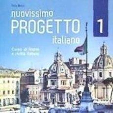 Libros: NUOVISSIMO PROGETTO ITALIANO 1 - LIBRO + DVD. Lote 218004391
