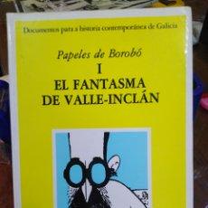 Libros: EL FANTASMA DE VALLE-INCLAN-PAPELES-EDICIONS DO CASTRO,1986. Lote 218817933