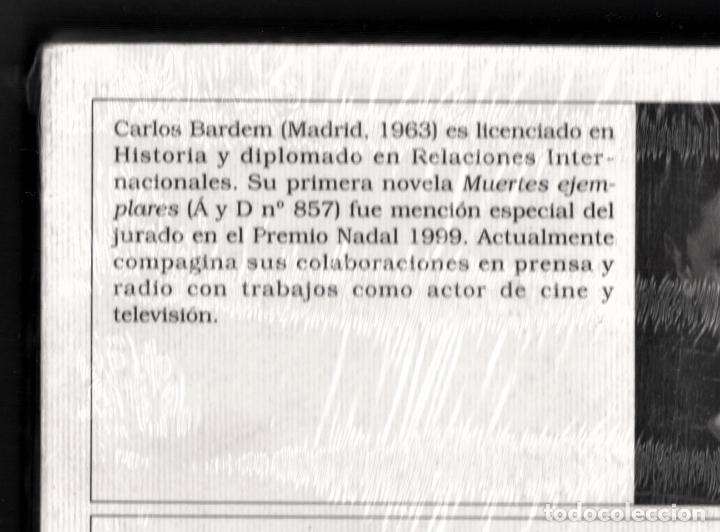Libros: CARLOS BARDEM BUZIANA O EL PESO DEL ALMA ED DESTINO 2002 1ª EDICIÓN ÁNCORA DELFIN Nº946 PLASTIFICADO - Foto 16 - 220749212