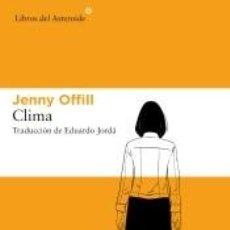 Libros: CLIMA. Lote 222027467