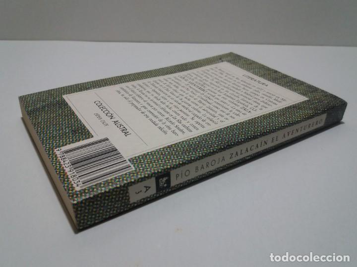 Libros: EMBLEMATICO ZALACAIN EL AVENTURERO PIO BAROJA - Foto 3 - 222081647