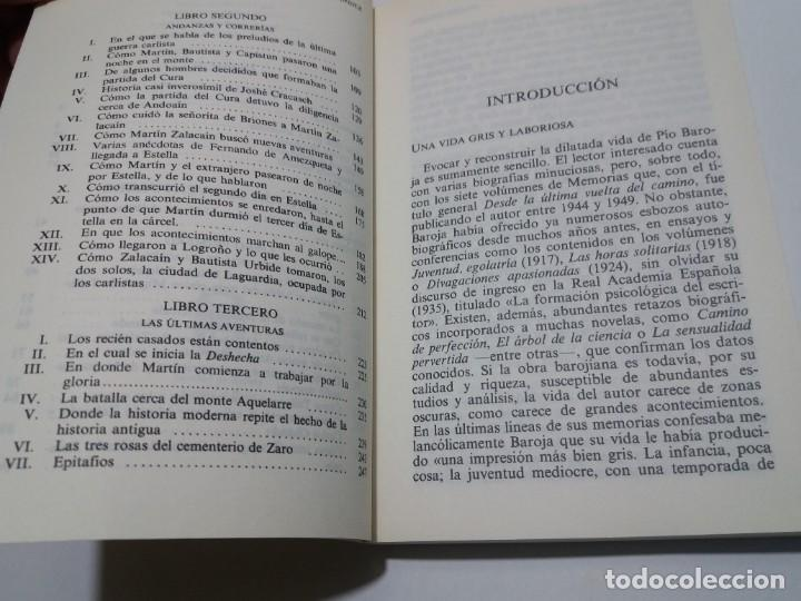 Libros: EMBLEMATICO ZALACAIN EL AVENTURERO PIO BAROJA - Foto 6 - 222081647