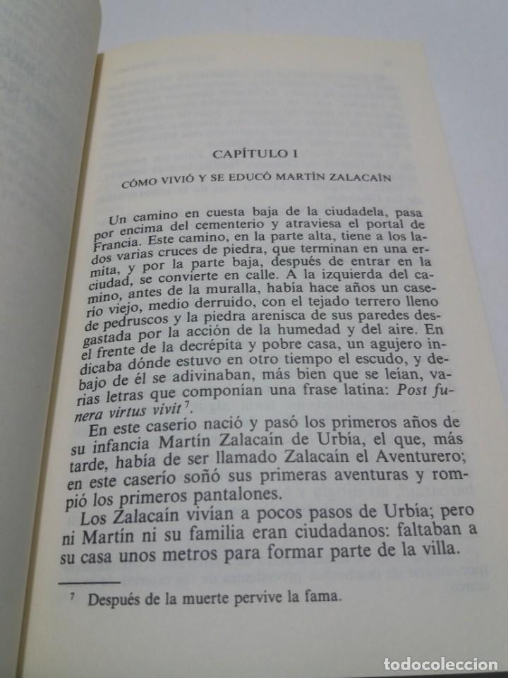 Libros: EMBLEMATICO ZALACAIN EL AVENTURERO PIO BAROJA - Foto 8 - 222081647