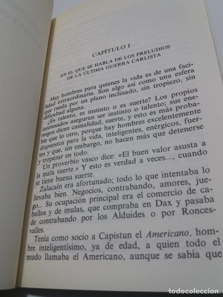Libros: EMBLEMATICO ZALACAIN EL AVENTURERO PIO BAROJA - Foto 10 - 222081647