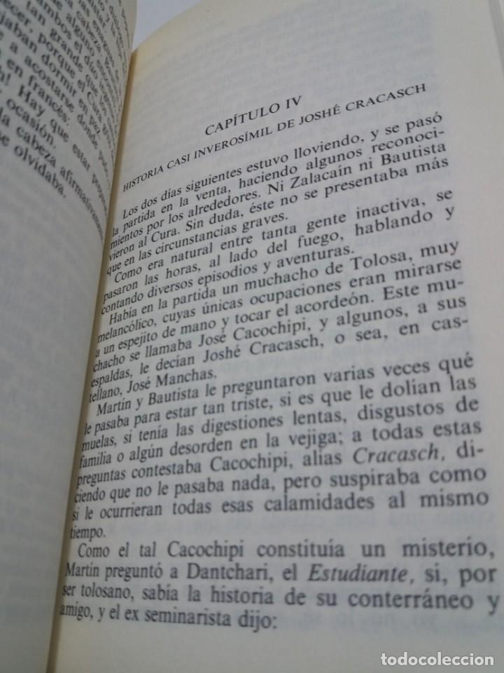 Libros: EMBLEMATICO ZALACAIN EL AVENTURERO PIO BAROJA - Foto 11 - 222081647