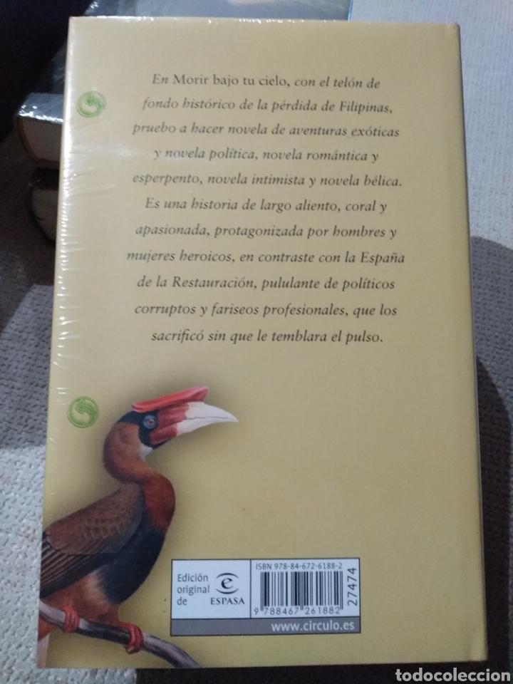 Libros: Juan Manuel de Prada. Morir bajo tu cielo. Circulo de lectores. Libro nuevo - Foto 2 - 222292253