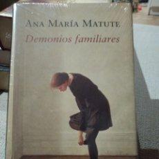 Libros: ANA MARÍA MATUTE. DEMONIOS FAMILIARES. CIRCULO DE LECTORES. LIBRO NUEVO. Lote 222292411