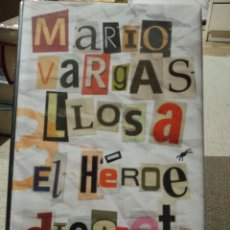 Libros: MARIO VARGAS LLOSA. EL HÉROE DISCRETO. CIRCULO DE LECTORES. LIBRO NUEVO. Lote 222292627