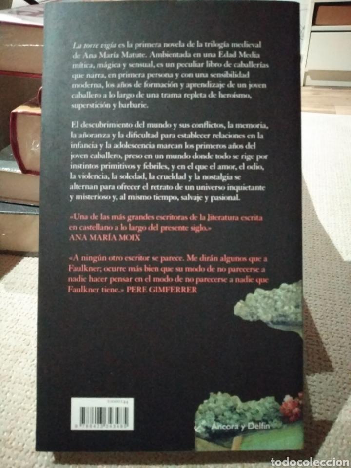 Libros: La torre vigía. Ana María Matute. Libro nuevo. Destino - Foto 2 - 222292755