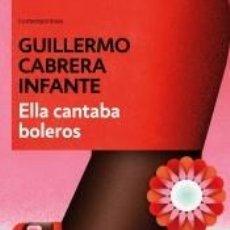 Libros: ELLA CANTABA BOLEROS. Lote 222551848