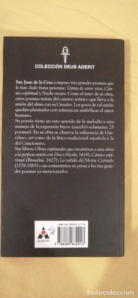 Libros: OBRAS MISTICA SAN JUAN DE LA CRUZ ED ABRAXAS BARCELONA 20X11CMS - Foto 3 - 223130202