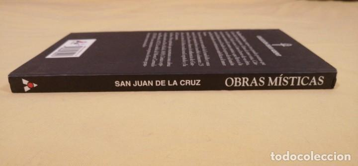 Libros: OBRAS MISTICA SAN JUAN DE LA CRUZ ED ABRAXAS BARCELONA 20X11CMS - Foto 4 - 223130202