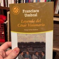 Livros: EL MUNDO 7: FRANCISCO PACO UMBRAL LEYENDA DEL CÉSAR VISIONARIO. Lote 223832707