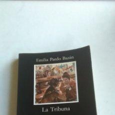 Livros: LA TRIBUNA. EMILIA PARDO BAZÁN. EDITORIAL CÁTEDRA. 2013. Lote 224528027