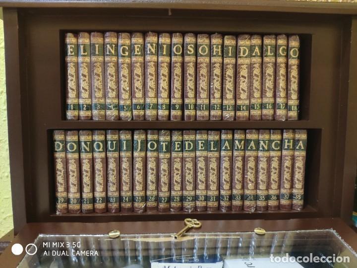 EL QUIJOTE EN 38 TOMOS EN SU MINIBIBLIOTECA (Libros Nuevos - Narrativa - Literatura Española)
