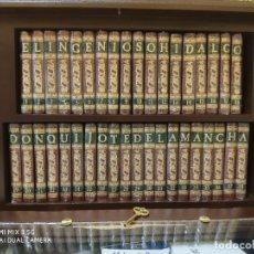 Libros: EL QUIJOTE EN 38 TOMOS EN SU MINIBIBLIOTECA. Lote 225165490