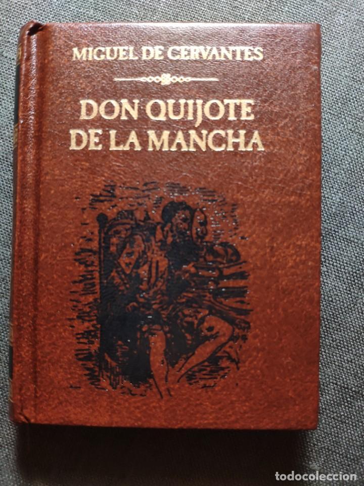 Libros: El Quijote en 38 tomos en su minibiblioteca - Foto 2 - 225165490
