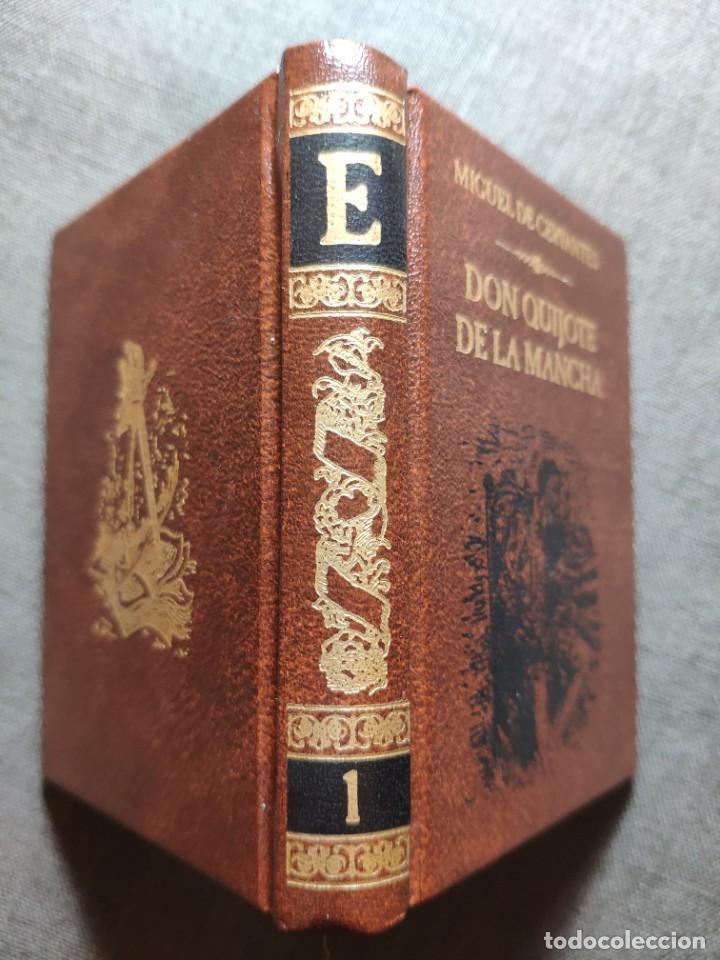 Libros: El Quijote en 38 tomos en su minibiblioteca - Foto 3 - 225165490