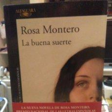 Livros: ROSA MONTERO.LA BUENA SUERTE.ALFAGUARA. Lote 225194248