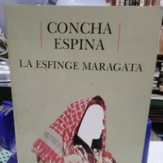 Libros: LA ESFINGE MARAGATA-CONCHA ESPINA-EDITA CASTALIA INSTITUTO DE LA MUJER,1989 BIBLIOTECA DE ESCRITORAS. Lote 226285425