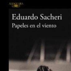 Libros: PAPELES EN EL VIENTO. Lote 226337440