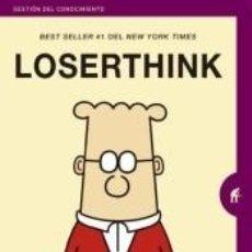 Libros: LOSERTHINK : PIENSA COMO UN GANADOR, APARTA EL EGO Y AUMENTA TU EFECTIVIDAD. Lote 227197715