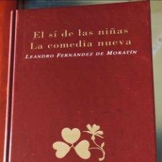 Libros: EL SÍ DE LAS NIÑAS Y LA COMEDIA NUEVA. Lote 227977020