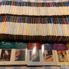 Libros: COLECCIÓN COMPLETA DE LAS 100 MEJORES NOVELAS EN CASTELLANO DEL SIGLO XX. Lote 229411330