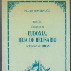 Libros: EUDOXIA. LA EDUCACIÓN FEMENINA EN UNA NOVELA DEL S. XVIII (1793). Lote 235728060