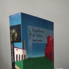 Libri: LIBRO JUGADORES DE BILLAR - JOSÉ AVELLO (ALFAGUARA). Lote 236359870