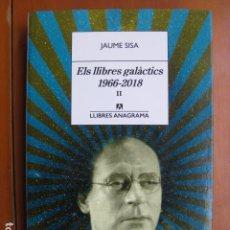 Libri: LIBRO - ELS LLIBRES GALACTICS 1966 2018 II - ED. ANAGRAMA - JAUME SISA - EN CATALAN. Lote 236930635